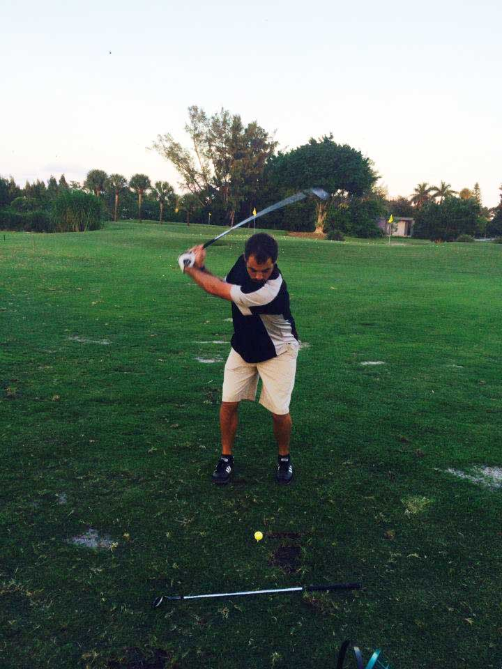 Perfecting your swing